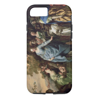 The Finding of Moses, c.1650-56 (oil on canvas) iPhone 7 Case