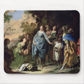 The Finding of Moses, c.1650-56 (oil on canvas) Mouse Pad