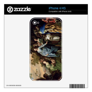 The Finding of Moses, c.1650-56 (oil on canvas) Skin For iPhone 4
