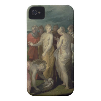 The Finding of Moses (oil on canvas) Case-Mate iPhone 4 Case