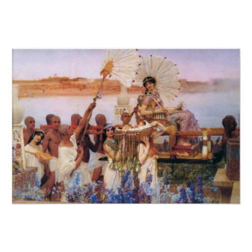 The Finding of Moses Poster