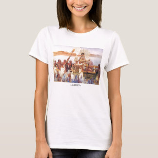 The Finding of Moses, Sir Lawrence Alma-Tadema T-Shirt