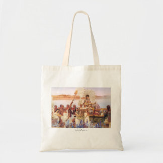 The Finding of Moses, Sir Lawrence Alma-Tadema Tote Bag