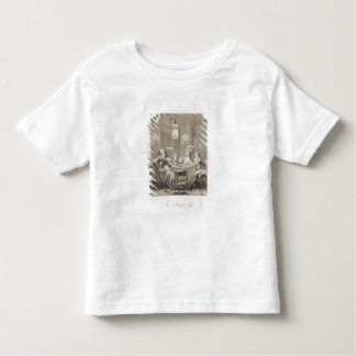 The Fine Supper, 1781, engraved by I.S. Helman (17 Toddler T-shirt
