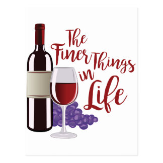 The Finer Things Postcard