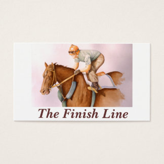 The Finish Line Business Card