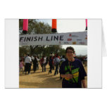 The Finish Line! Greeting Card