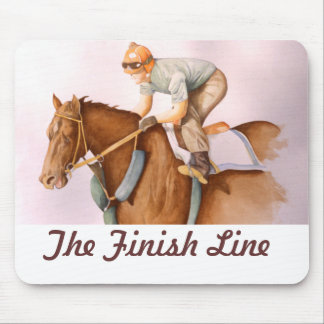 The Finish Line Mouse Pad