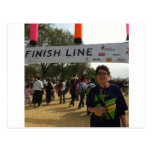 The Finish Line! Postcards