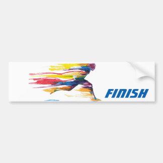 The Finish Motivational Bumper Sticker