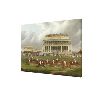 The Finish of the Epsom Derby in 1822 Gallery Wrapped Canvas