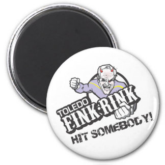 The Fink Rink 2 Inch Round Magnet