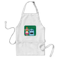 The Fire Alarm Means Dinner Time Adult Apron