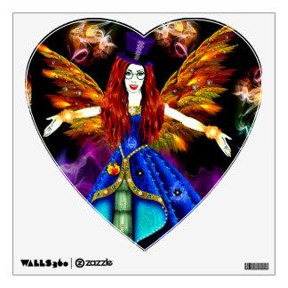 The Fire fairy Wall Sticker