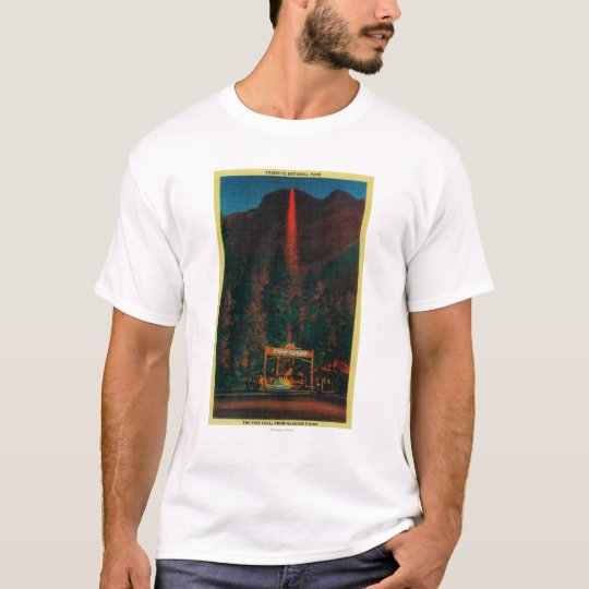 The Fire Fall from Glacier Point T-Shirt