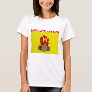 THE FIRE FUNNY  T-SHIRT
