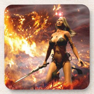 the fire goddess coaster