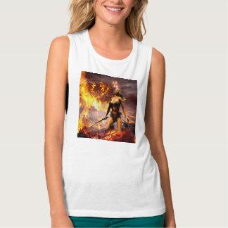 the fire goddess tank top