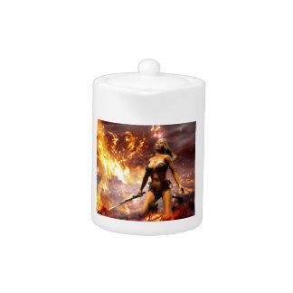 the fire goddess teapot