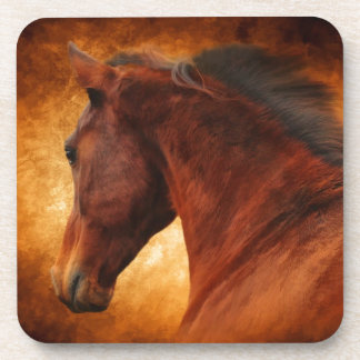 The Fire Horse Beverage Coaster