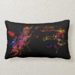 The Fire Horse Vs The Rainbow Dragon Pillows