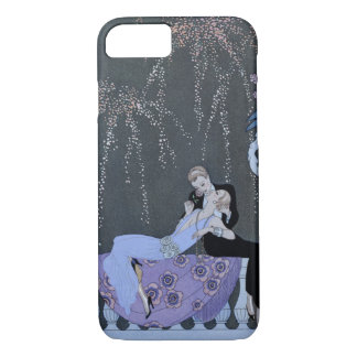The Fire, illustration for 'Fetes Galantes' by Pau iPhone 8/7 Case