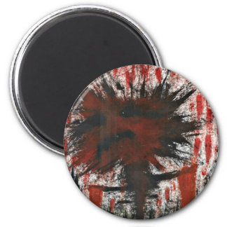 The Fire In Our Soul Must Quench Its Thirst. 2 Inch Round Magnet