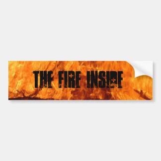 The Fire Life Car Bumper Sticker