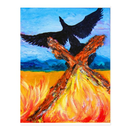 The Fire of the Rising Phoenix Postcards