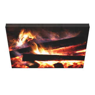 The Fire Pit Canvas Print