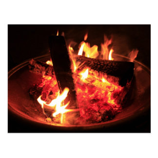 The Fire Pit Postcard