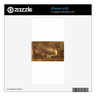 The Fire Wheel by James McNeill Whistler Decal For iPhone 4