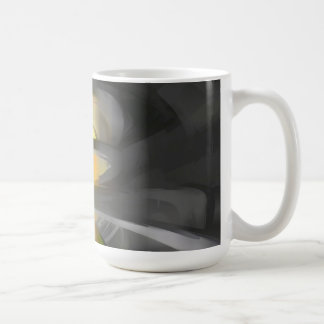 The Fire Within Pastel Abstract Coffee Mug
