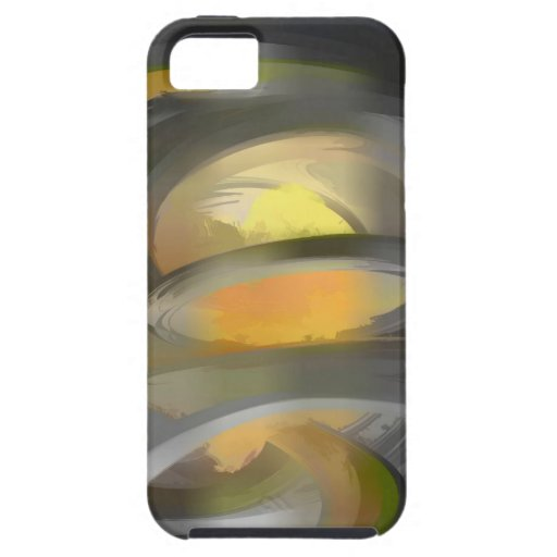 The Fire Within Pastel Abstract iPhone 5 Case