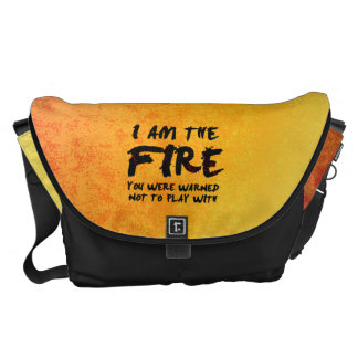The Fire You Were Warned Not to Play With Courier Bag