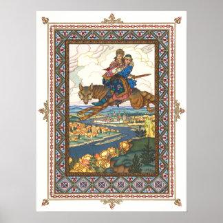 The Firebird by Boris Zvorykin Poster