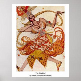 The Firebird By Leon Samoilovitch Bakst Poster
