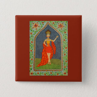 The Firebird (Fairy Tale Fashion #1) Pinback Button