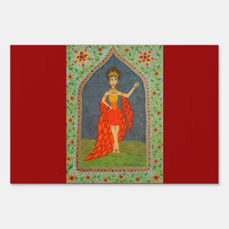 The Firebird (Fairy Tale Fashion Series #1) Lawn Sign