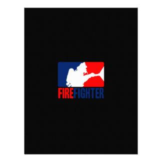 The Firefighter Action Letterhead