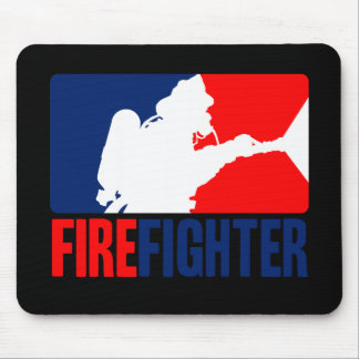 The Firefighter Action Mouse Pad