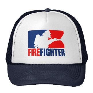The Firefighter Action Trucker Hat