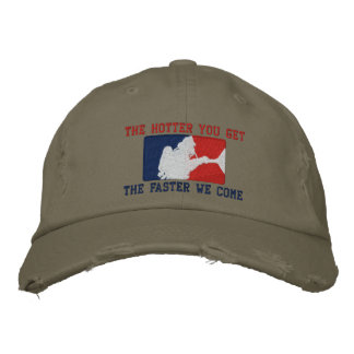 The Firefighter Custom Humorous Embroidery Embroidered Baseball Cap