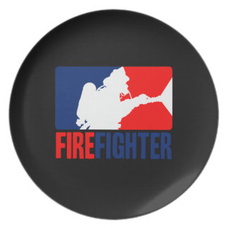 The Firefighter Party Plates