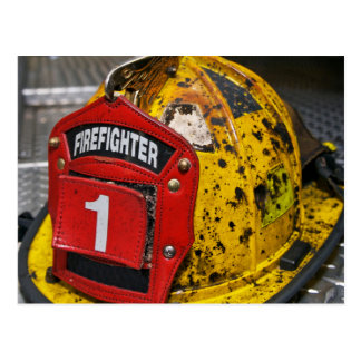 the Firefighter Postcard