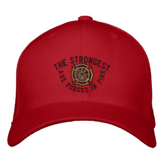 The Firefighter Saying Custom Embroidery Embroidered Baseball Hat