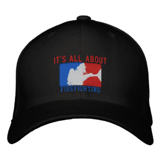 The Firefighter Values Custom Embroidery Embroidered Baseball Hat