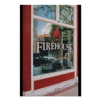 The Firehouse Bar in Downtown Athens, GA. Poster