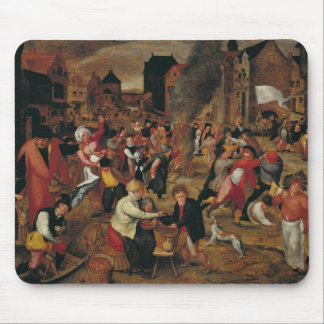 The Fires of St. Martin Mouse Pad