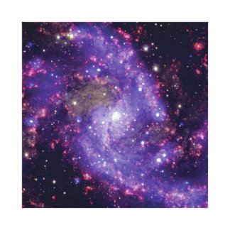 The Fireworks Galaxy Outer Space Photo Canvas Print